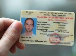 Thủ tục cấp đổi giấy phép lái xe cho người nước ngoài tại Việt Nam