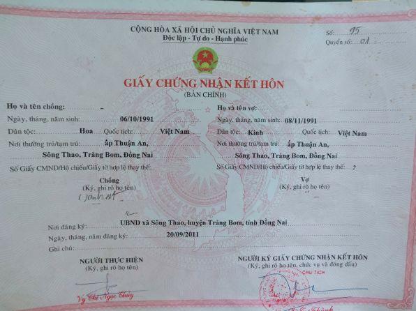 Thủ tục ly hôn khi không có giấy chứng nhận kết hôn